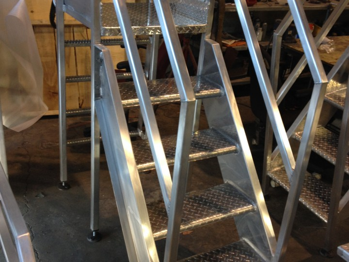 Centre Inox-Commercial-escalier stainless
